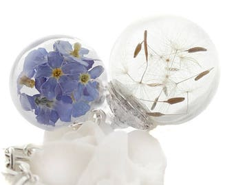 real * wish flower & forget-me-not * chain (11/P-V)