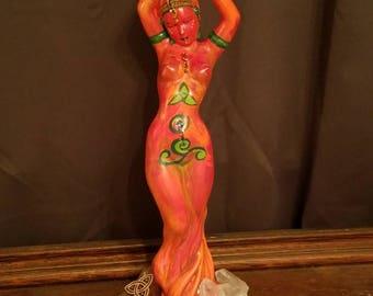 Brigid, Goddess of the Threefold Flame
