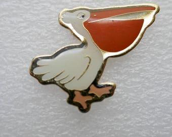 Pelican Enamel Pin Back badge