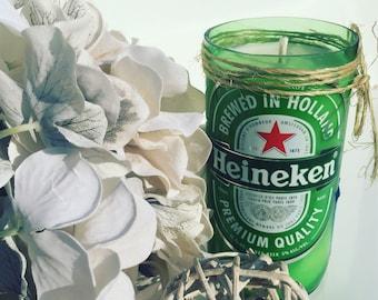 Heineken Beer Candle