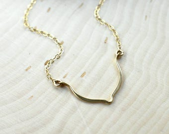 14K Gold-Fill Lotus Layering Necklace
