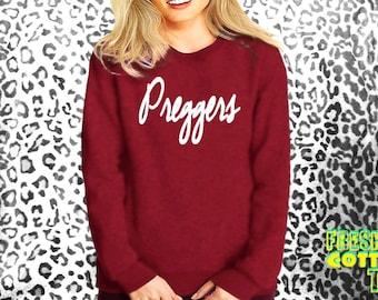Preggers- sweatshirt eco cotton blend