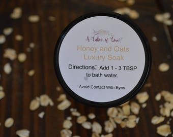 Bath Soak - Honey Bath Soak - Honey and Oats Luxury Bath Soak