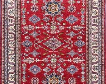 30% Off 149 x 211 cm High quality stunning hand knotted kazak rug 100 Percent best wool