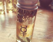 Mercury Retrograde Oil Anointing Oils from The Cunning Toad (sold as curio) Tarot Magick