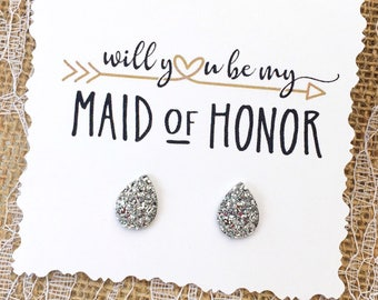 Will You Be My Bridesmaid Gift - Maid of Honor