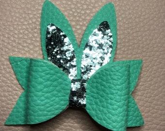 Bunny Bow Clip