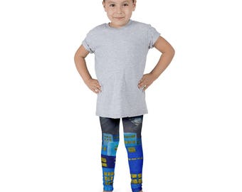 Candle in the window Kid's leggings