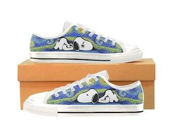 Snoopy Aquila Canvas Women's Shoes