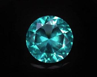 3.7 ctw. paraiba tourmaline loose gemstone.