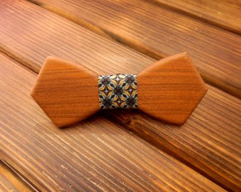 Wood bow tie Wedding Bow Tie Wood anniversary gift Brother gift Boyfriend gift Groomsmen Father of the bride gift Wooden bowtie Bowtie men