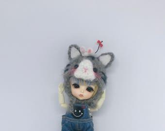 Lati hat Blythe hat (Catty hat)