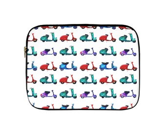 Moped Laptop Sleeve, Tablet Sleeve