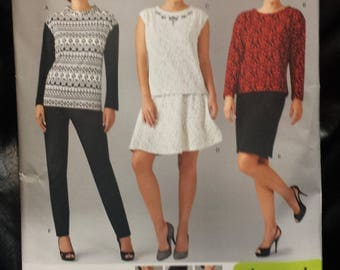 McCall's 1255 - Top, Pants, Skirt Pattern