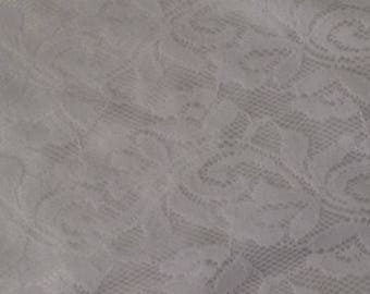 Lace fabric double already off white color