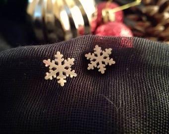 Snowflake earrings | Christmas Earrings | Winter gift ideas | Daughter gift | Winter earrings | Gifts for her | Let it snow | Winter fashion