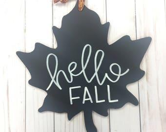 Leaf Hanging Sign