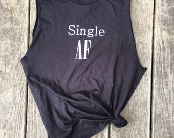 Single AF muscle tank