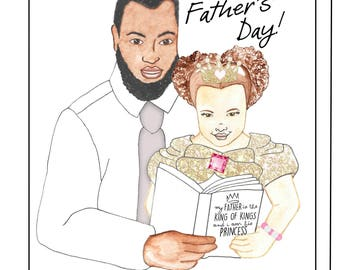 King of Kings Father Day Card
