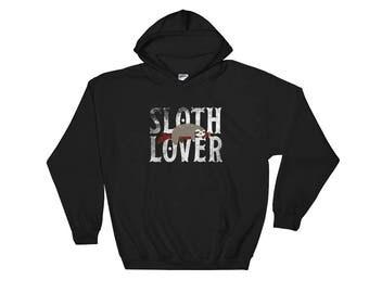 Sloth Lover Hooded Sweatshirt Spirit Animal