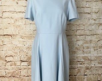Baby blue vintage style dress