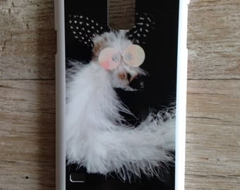 Samsung Galaxy S5 case with white Fox
