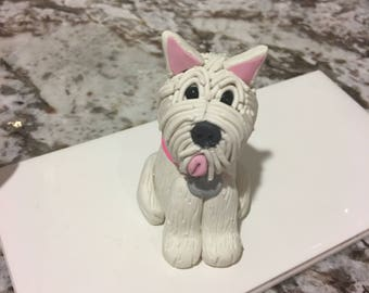 Westie Polymer Clay Ornament