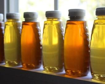 Spring Honey, Raw Wildflower Honey, Raw Honey, All Natural Honey, Honey, 12oz bottle Pure Honey