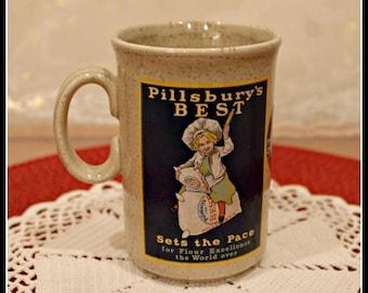 Vintage Pillsbury's Best 1986 Collector's Mug, The Richard Ferrell Collection, Pillsbury's Best Coffee Mug, Collectible Coffee Mug, Hot Tea