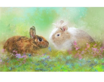 The rabbits of Anaïs - order custom