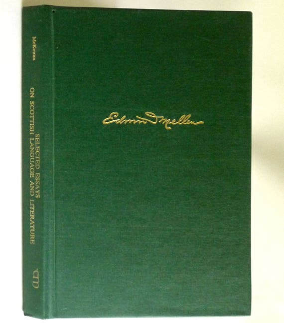 Selected Essays on Scottish Language and Literature: A Festschrift in Honor of Allan H. MacLaine 1992 Steven R. McKenna Signed Hardcover