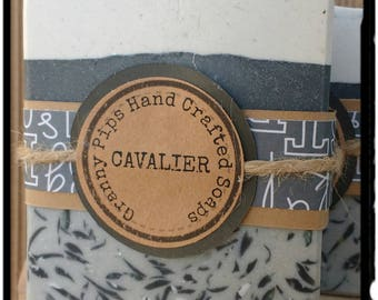 Cavalier / hand crafted soap for men/handmade mens soaps/valentine gift for men
