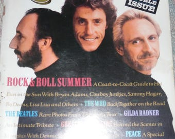 vintage rolling stone magazine issue #556/557 double issue interviews with  the who and many more!