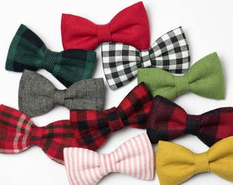 SALE- Holiday Bow Tie