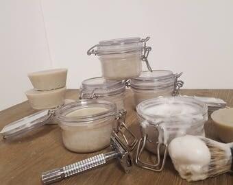 Shave Soap with Brush kit Patchouli & Spearmint