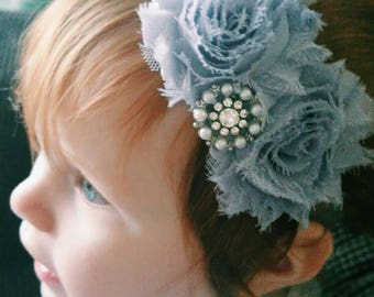 Paris in the Rain Baby Headband