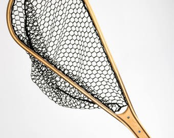 Wooden Fly Fishing Trout Landing Net #217