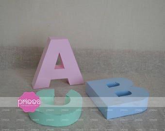 SVG 3D Alphabet - Pack with 26 letters SVG, FCM, Scut, Studio