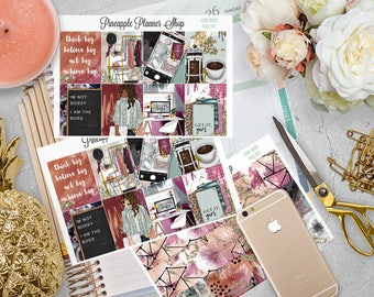 Lady Boss Full Weekly Planner Kit! | For Erin Condren