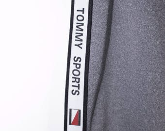 tommy hilfiger bootleg sweatpants - vintage 90s - tommy sports pants