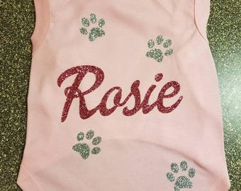 Custom Doggie Tees