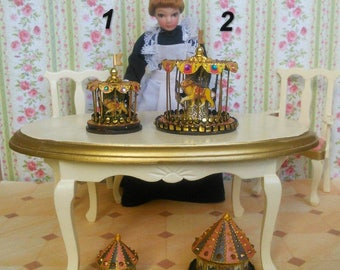 Carousel.(1,25 inches) Toys for the dollhouse . Scale 1:12