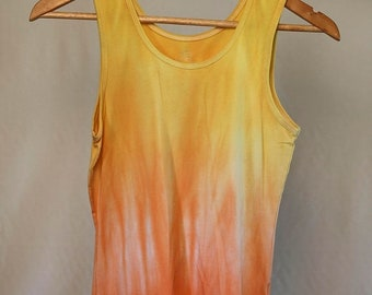 25% OFF ENTIRE SHOP Girls Size 14 Singlet - Beach - Festival - Ready To Ship - Tie Dyed - Fashion - 100 Percent Cotton - Free Shipping withi