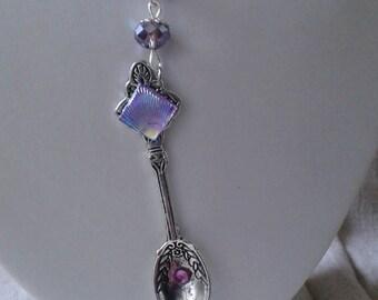 """necklace """"silver spoon"""""""
