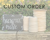Custom Macrame Wall Hanging