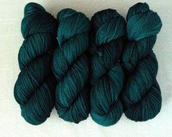 CURTAIN CALL - Hand Dyed Yarn – Choose Weight - Fingering  / Sport / Worsted – Superwash Tonal Yarn