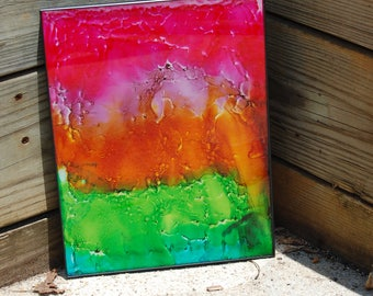 Rainbow Glass Art