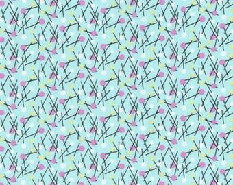 PATCHWORK DEARSTELLADESIGN PATT #247 pine aqua fabric