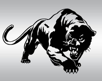 Panthers clipart svg | Etsy