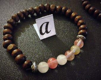 Cherry Quartz genuine gemstone jewelry